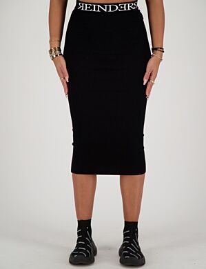 Reinders | Skirt Reinders Entarsia True Black