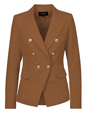 Luxury Blazer Camel