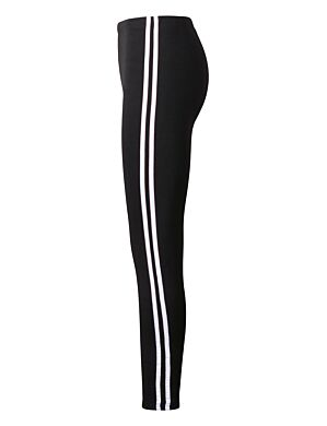 Legging 2 Stripe Wit
