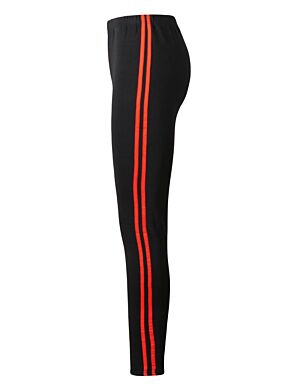 Legging 2 Stripe Rood