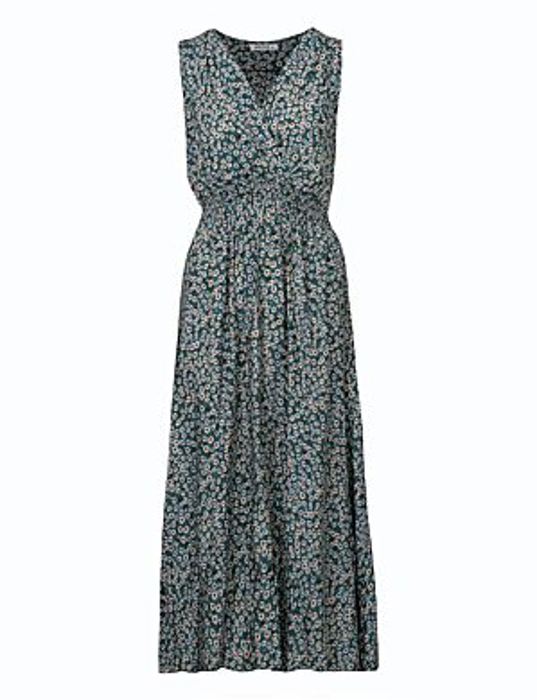 Long Dress Margriet Turquoise