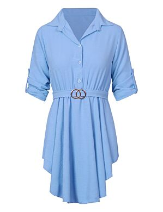 Dress Chelsey Blauw