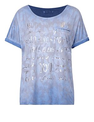Top Believe Blauw