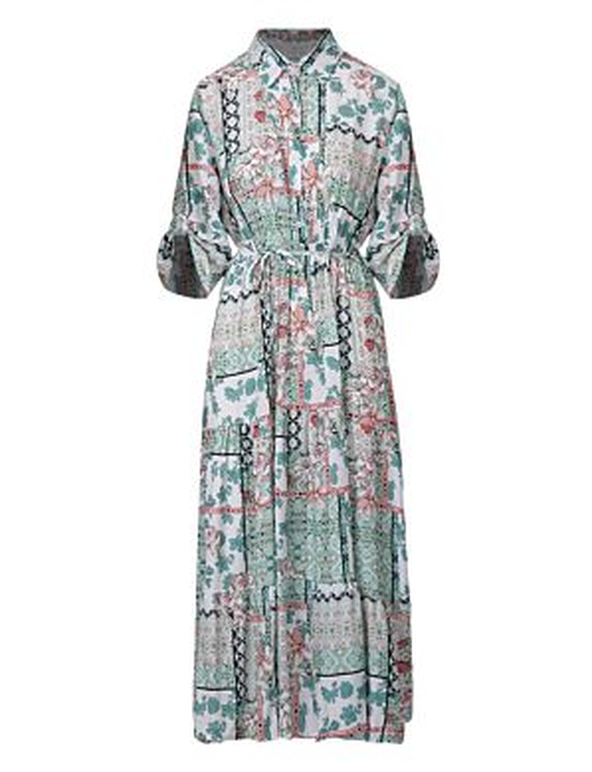 Long Dress Lara Mint