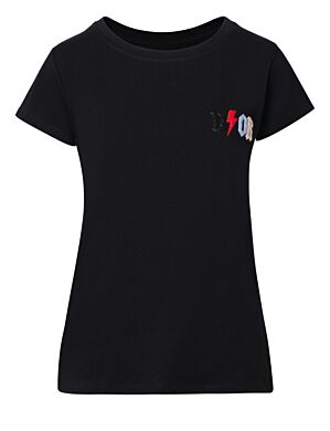 T-shirt D!or Colors Zwart