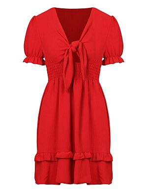 Dress Fien Rood