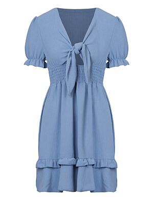 Dress Fien Blauw