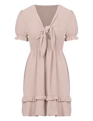 Dress Fien Beige