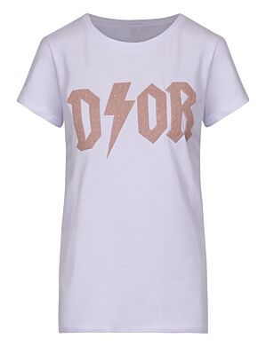 T-shirt New D!or Beige