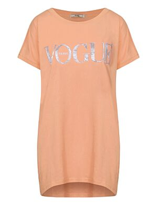 T-shirt Paris Vogue Oranje