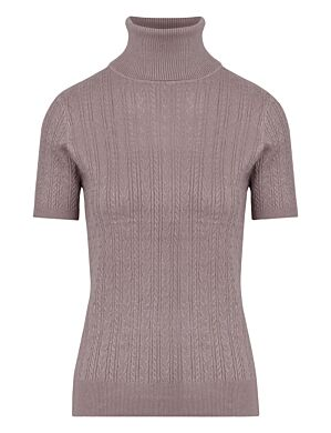 Col Short Sleeve Liv Taupe