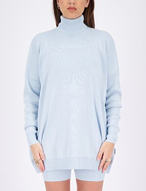 Reinders | Sweater Open Back Baby Blue
