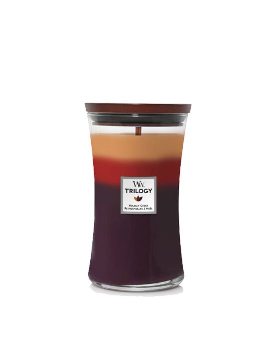 WoodWick | Trilogy Holiday Cheer Large Candle