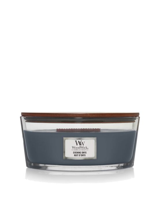 WoodWick | Evening Onyx Ellipse Candle
