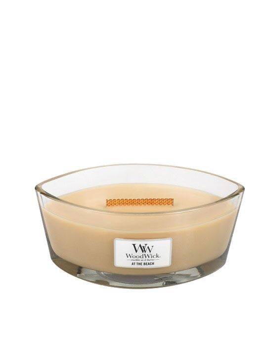 WoodWick - At The Beach Ellipse Candle