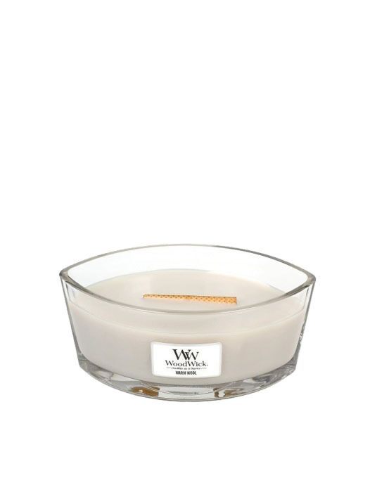 WoodWick - Warm Wool Ellipse Candle