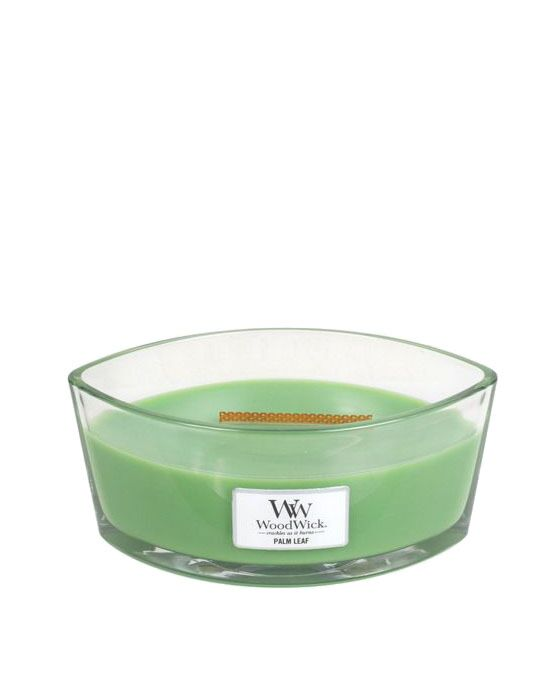 WoodWick - Palm Leaf Ellipse Candle