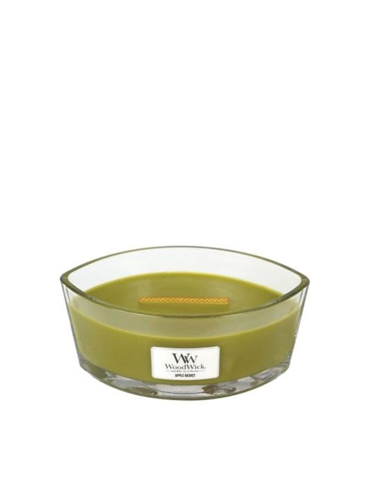 WoodWick - Apple Basket Ellipse Candle