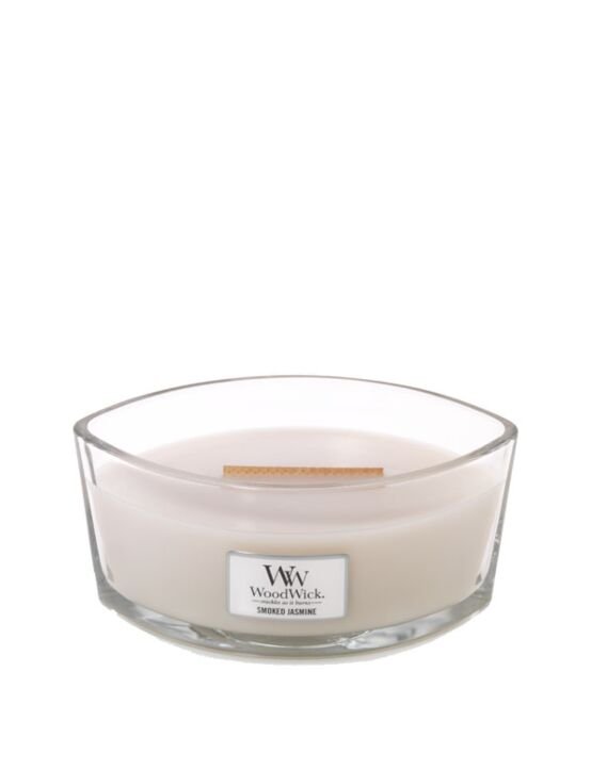 WoodWick | Smoked Jasmine Ellipse Candle