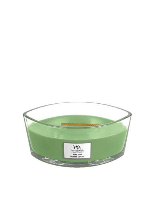 WoodWick - Hemp & Ivy Ellipse Candle
