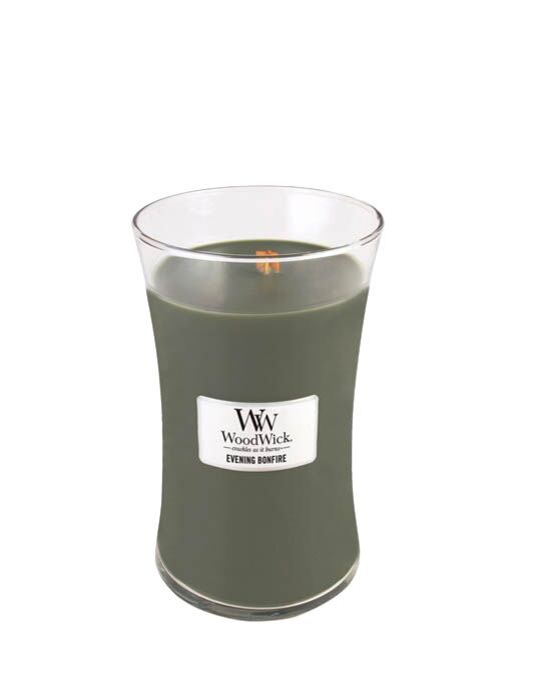 WoodWick - Evening Bonfire Large Candle