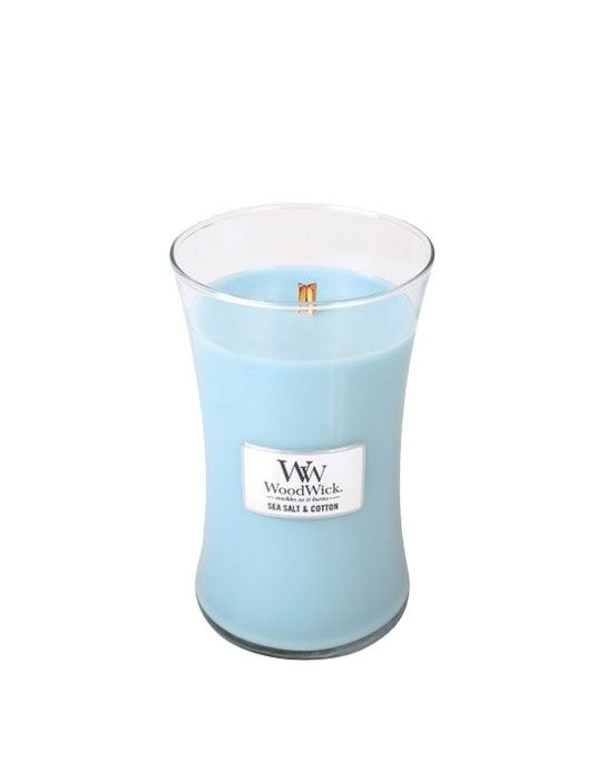 WoodWick - Sea Salt & Cotton Large Candle