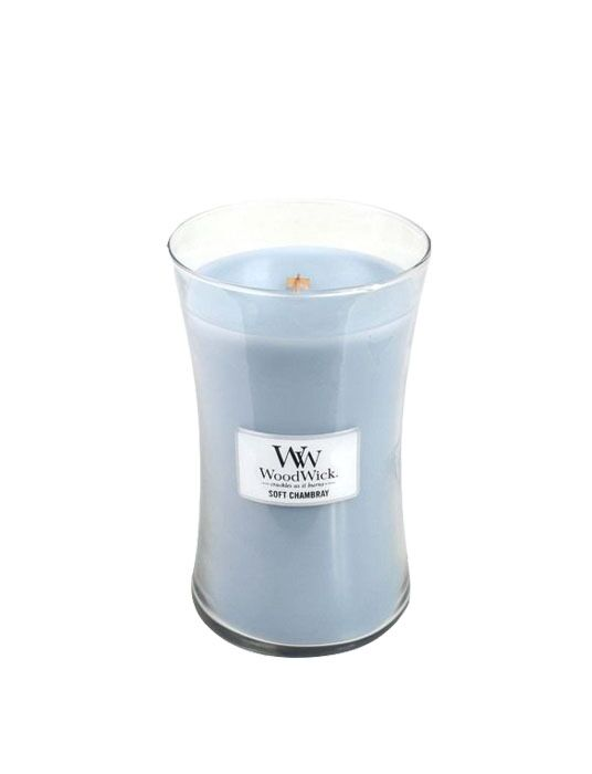 WoodWick - Soft Chambray Large Candle