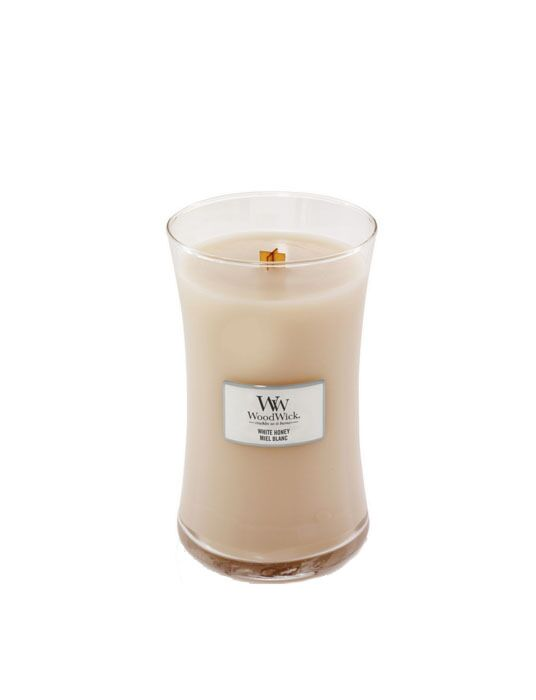 WoodWick - White Honey Large Candle