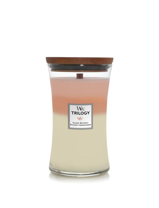 WoodWick | Trilogy Island Getaway Large Candle