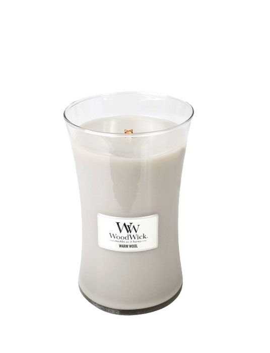 WoodWick - Warm Wool Large Candle