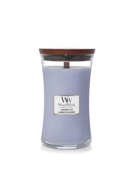 WoodWick | Lavender Spa Large Candle