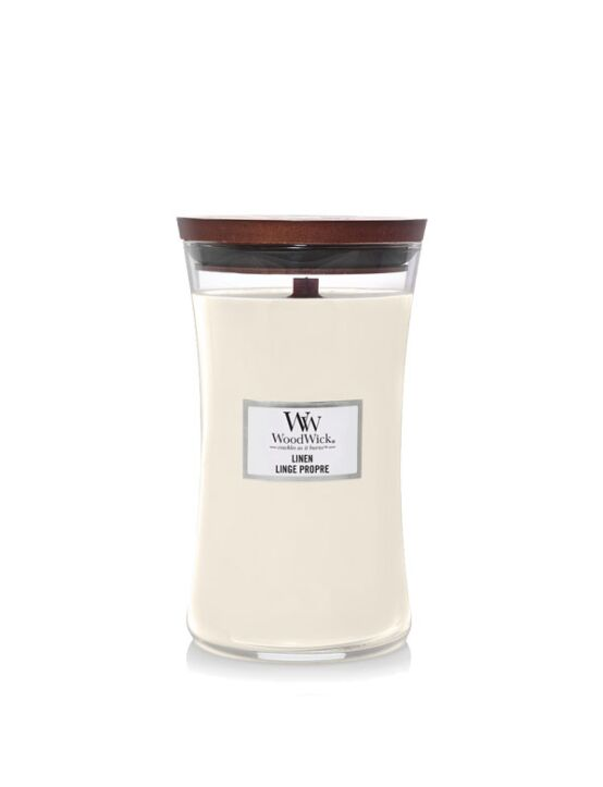 WoodWick | Linen Large Candle
