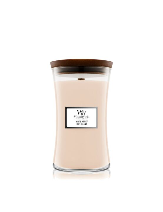 WoodWick | White Honey Large Candle