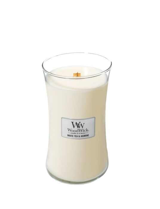WoodWick | White Tea & Jasmine Large Candle