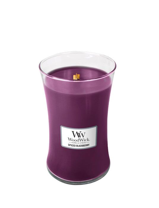 WoodWick - Spiced Blackberry Large Candle
