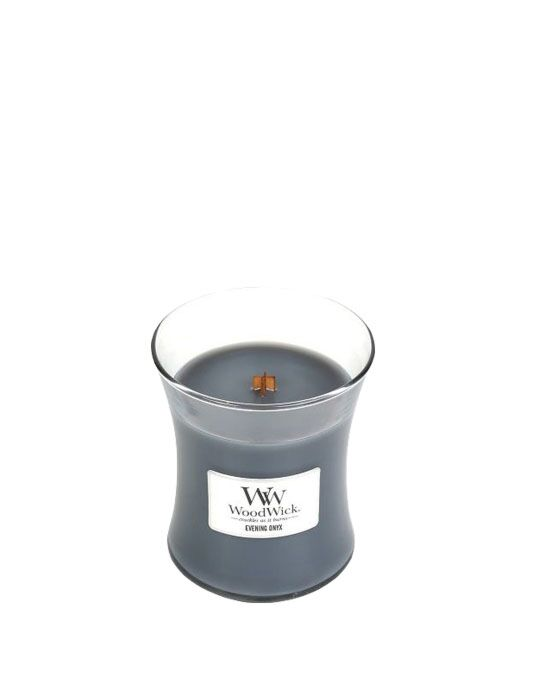 WoodWick - Evening Onyx Medium Candle