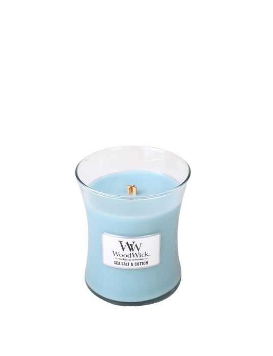 WoodWick - Sea Salt & Cotton Medium Candle