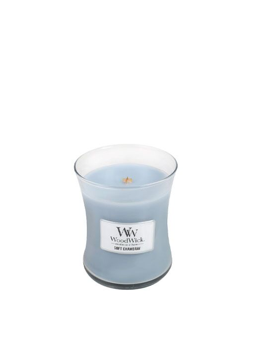 WoodWick - Soft Chambray Medium Candle