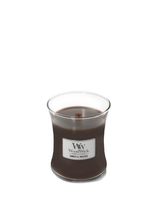 WoodWick - Amber & Incense Medium Candle