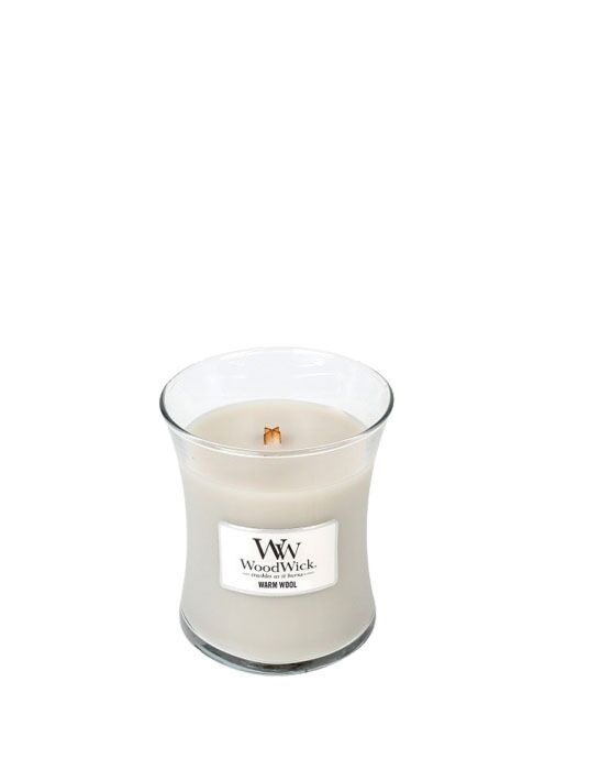 WoodWick - Warm Wool Medium Candle
