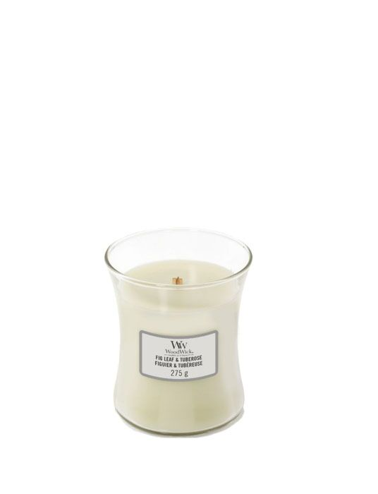 WoodWick - Fig Leaf & Tuberose Medium Candle