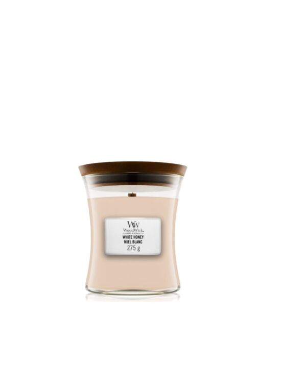 WoodWick | White Honey Medium Candle