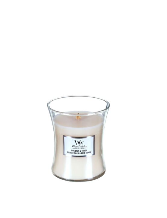 WoodWick | Coconut & Tonka Medium Candle