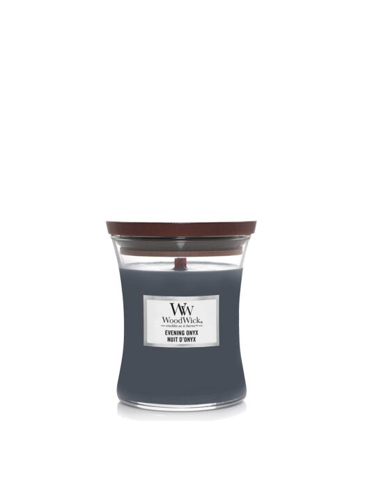 WoodWick | Evening Onyx Medium Candle