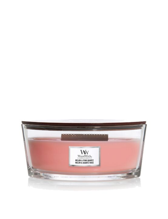 WoodWick | Melon & Pink Quartz Ellipse Candle