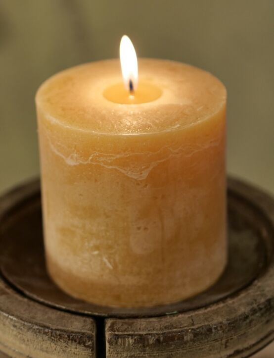 Candle Nature D10.H10