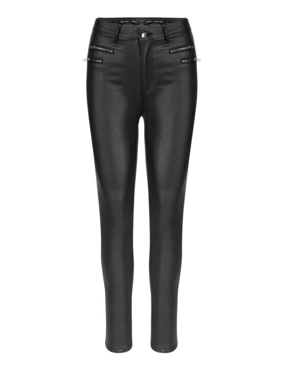 Leather-Look Trouser Lover Zwart