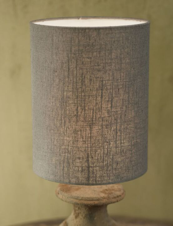 Lampshade Cylinder Grey 20X22X28