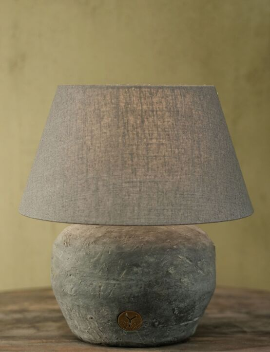 Lampshade Grey 25X35X21