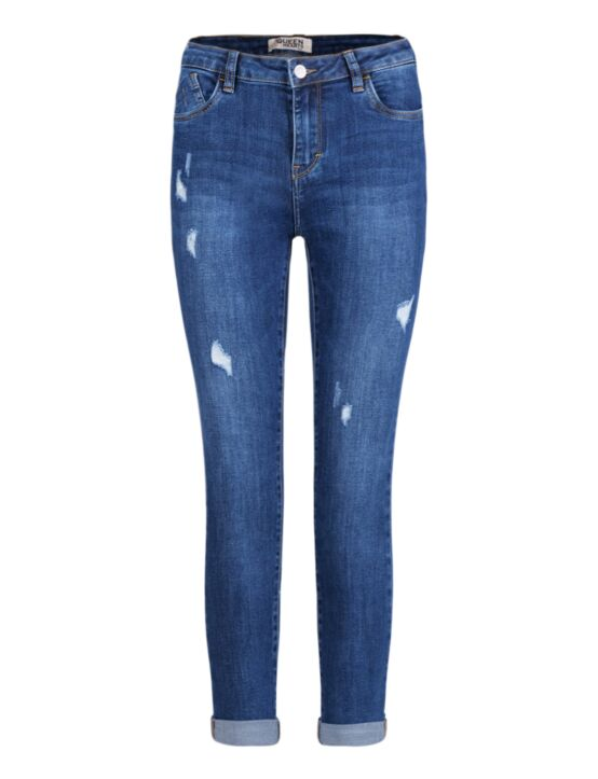 Queen Hearts | Skinny Jeans, Mid Waist 715